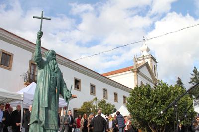 Estátua de D. António Barroso homenagem à Missionação Portuguesa