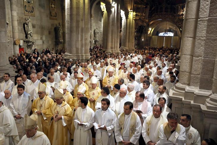 Canonização de Frei Bartolomeu dos Mártires celebrada na Sé de Braga