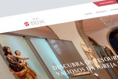 Museu Pio XII com novo site