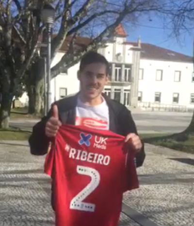 """Yuri Ribeiro adere à campanha """"vamos ajudar o António"""""""