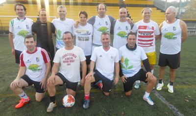 Futebol na tarde de consoada