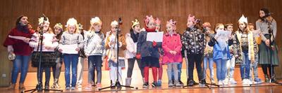 Gala de Reis dos alunos do 1º Ciclo