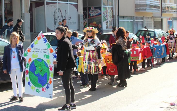 """Desfile de Carnaval com temática """"Vieira Sustentável"""""""
