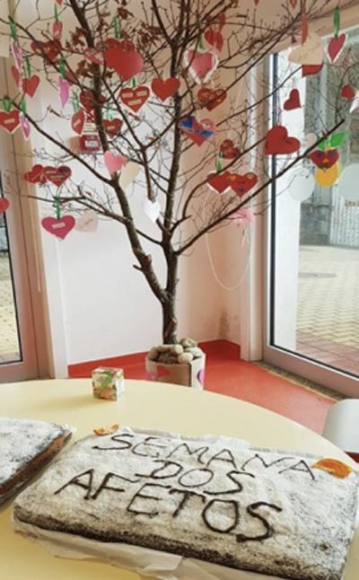 Semana dos Afetos nas Escolas Básicas do AEVA