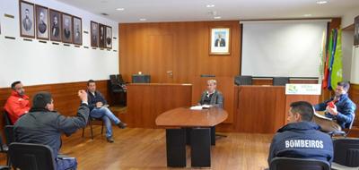 Proteção Civil Municipal disponibiliza Kits de proteção individual