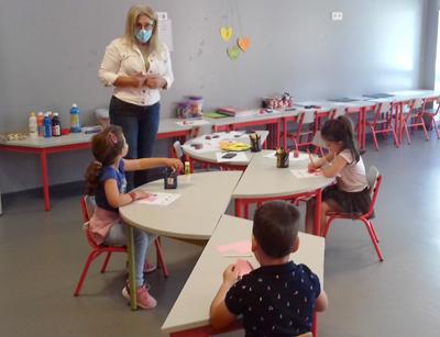 Pré-escolar com presença diminuta