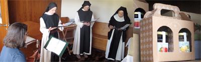 Irmãs da Ordem de Cister 15 anos em São Bento da Porta Aberta<br>