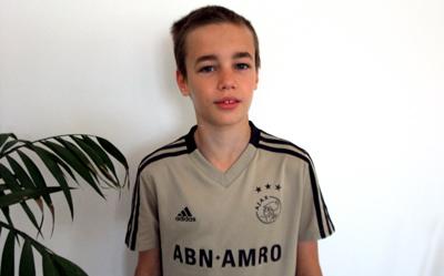Vieirense na formação do Ajax