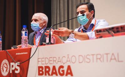 Congresso distrital de Braga do PS reelege Joaquim Barreto e Luís Soares