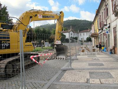 Obras na Praça Guilherme de Abreu