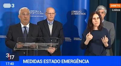 """As novas medidas do Governo em """"estado de emergência"""""""