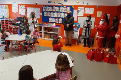 Executivo vieirense visitou escolas