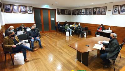 Executivo reúne com presidentes de Juntas