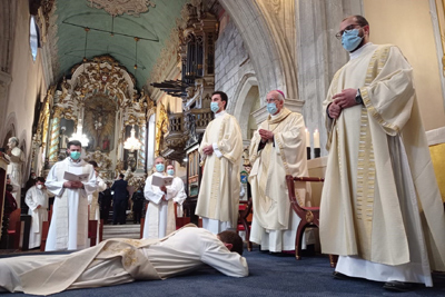 Núncio apostólico presidiu à ordenação sacerdotal em Viana do Castelo
