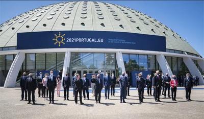 """""""Compromisso Social do Porto""""<br>Aprovado na cimeira dos líderes europeus"""