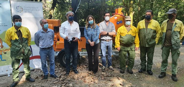 Município reforça equipamento florestal