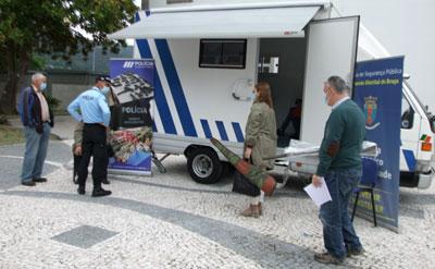 Vieirenses entregaram armas à PSP