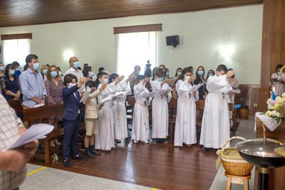 Festa da Eucaristia em Cantelães