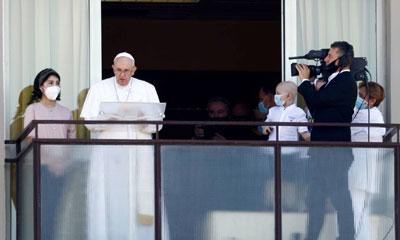 Papa realça a importância dos serviços de saúde